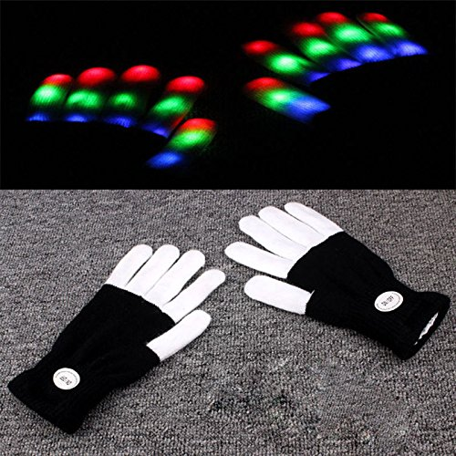Black-Multicolors-LED-Flashing-Finger-Light-Up-Glove-Mitts-For-Party-Rave-Christmas-Gift