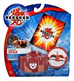61BF6ihfhZL. SL160  Spinmaster Bakugan Battle Brawlers New Vestroia DEKA Series Figure   Large Pyrus Red Scorpion Trap with 1 Metal Gate Card