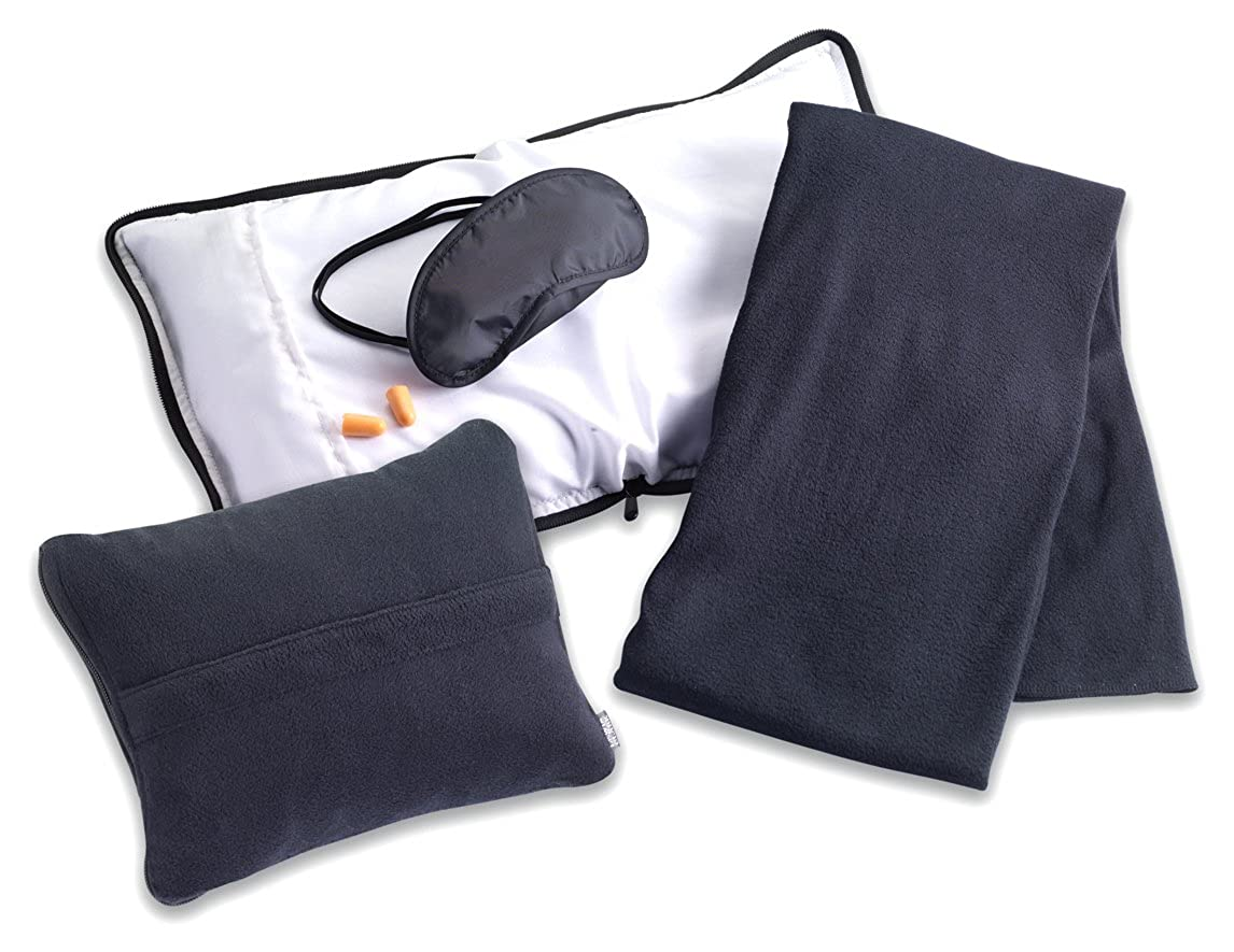 Travel Comfort Travel Pillow Clark Travel Comfort Set