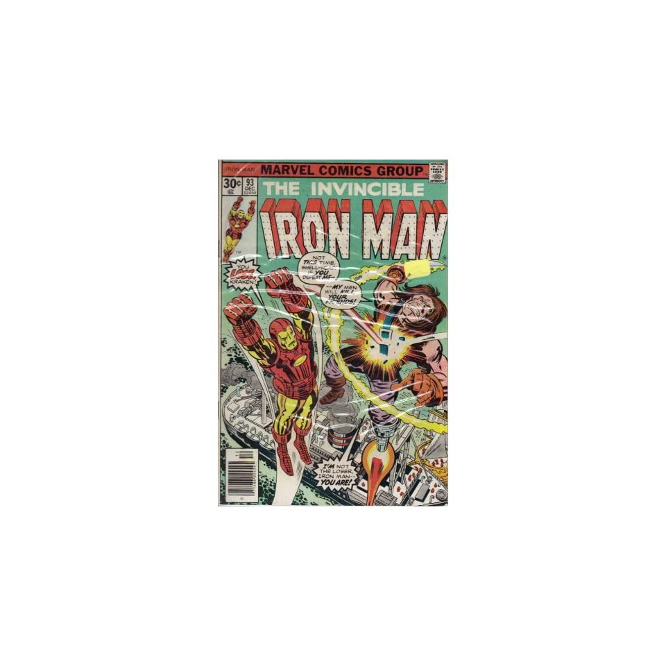Iron Man #93 Comic Book