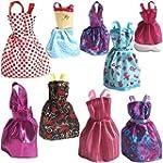 Rainbow Handmade Dresses for Barbie D...