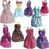 Rainbow Handmade Dresses for Barbie D…