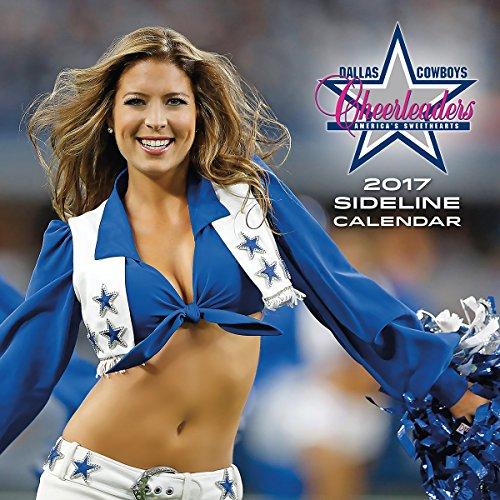 Turner Licensing 2017 Dallas Cowboys Cheerleaders Wall Calendar,