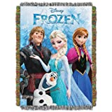 The Northwest Company Frozen Fun from Disneys Frozen Tapestry Throw blanket, 48 by 60-inch