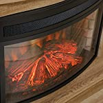 """Curved 26"""" Fireplace Insert for Sauder Credenza by FromSubjectReceivedSizeCategories"""
