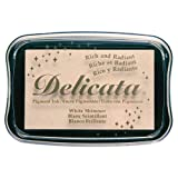Delicata White Shimmer Metallic Pigment Inkpad (New Version) (Tamaño: New Version)