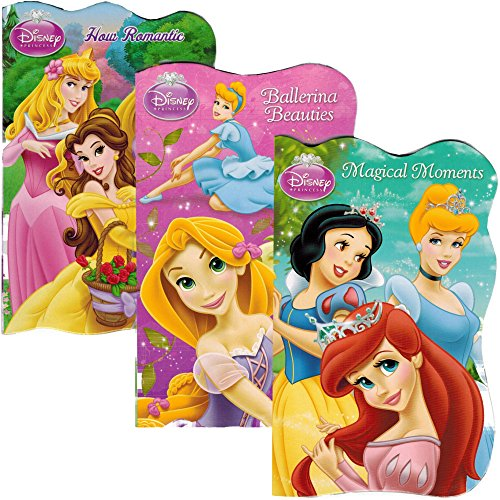 Disney® Princess Board Books (Set of 3 Shaped Board Books) Ariel, Cinderella, Snow White, Belle, Tiana - 1