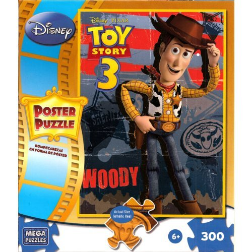 Cheap Mega Brands Disney Pixar Toy Story 3 Woody 300 Piece Poster Puzzle (B004HM45US)