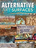 img - for Alternative Art Surfaces: Mixed-Media Techniques for Painting on More Than 35 Different Surfaces book / textbook / text book