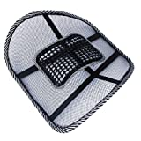 Docooler�-Car-Office-Seat-Chair-Massage-Back-Lumbar-Support-Mesh-Ventilate-Cushion-Pad-Size1