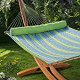 Parrot Stripe Dura-Weave Quilted Hammock