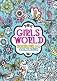 Girls' World: Doodling and Colouring
