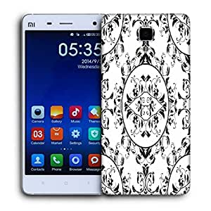 Snoogg Mixed Pattern Design Printed Protective Phone Back Case Cover For Xiaomi Mi 4