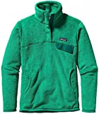 Patagonia Womens Re-tool Snap-t® Fleece Pullover Aqua Stone/beryl Green X-dye Sm (Women's 4-6)