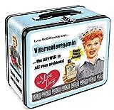 Aquarius I Love Lucy Vitameata Lunch Box