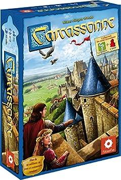 Asmodee - CARC01N - Carcassonne - Jeu de Stratégie - Version 2015