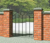 IRONBRIDGE SMALL METAL GATE - Fits opening 900mm wide - 940mm