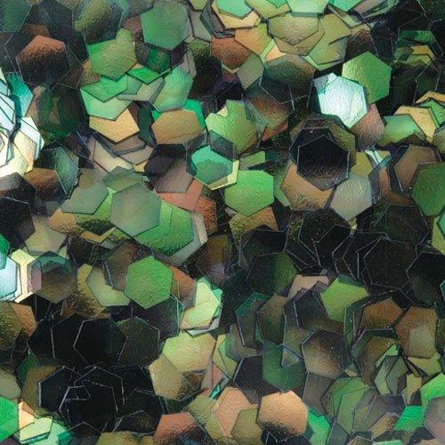 六角オーロラG 1mm #312 ブラック 0.5g