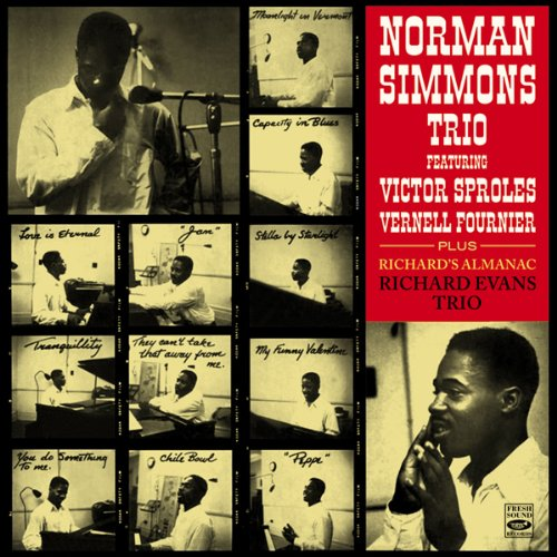 Norman Simmons Trio plus Richard Evans Tio Richard's Almanac by Norman Simmons, Victor Sproles, Vernell Fournier, Jack Wilson and Richard Evans