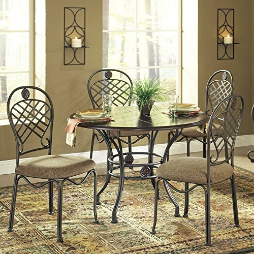 Steve Silver Wimberly 5-Piece Dining Table Set