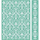Cuttlebug 5X7 Embossing Folder/Border Set-Anna Griffin Foundry