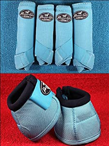 Turquoise Sml Professional Choice Sports Medicine Horse Boots Bell Ventech Elite by HILASON