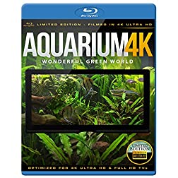 Aquarium 4K - Wonderful Green World [Blu-ray]