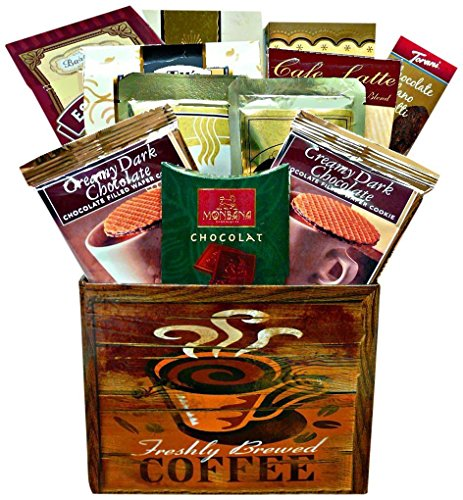 Art of Appreciation Gift Baskets Coffee Break Box (Chocolate And Tea Gift Basket compare prices)