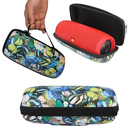 Click to buy Protective Cover Bag Pouch Cover Case for JBL Charge 3 Charge3 Waterproof Portable Bluetooth Speaker (Butterfly Pattern) - From only $12.99