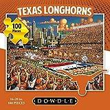 Jigsaw Puzzle - University of Texas Longhorns-UT-100 Pc By Dowdle Folk Art by Dowdle Folk Art