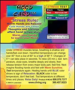 Stress Cards Mood Cards -MC 40 heavy cardstock 500