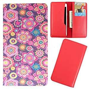 DooDa - For Lava Iris 100 Lite PU Leather Designer Fashionable Fancy Case Cover Pouch With Card & Cash Slots & Smooth Inner Velvet
