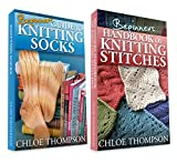 """(2 BOOK BUNDLE) """"Beginners Handbook of Knitting Stitches"""" & """"How to Knit Socks"""""""