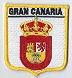 Gran Canaria Canary Islands Spain Spanish Embroidered Patch badge *EXCLUSIVE TO EMBLEMS-GIFTS*
