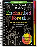 img - for Enchanted Forest Scratch and Sketch (An Art Activity Book for Artistic Wizards of All Ages) book / textbook / text book