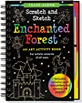 Scratch and Sketch Enchanted Forest:...