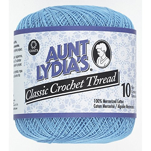 South Maid Crochet Cotton Thread Size 10 Delft Blue Knitting And