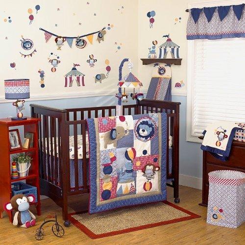 Cocalo Circus Act 4-piece Crib Bedding Set - 1