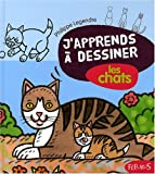 J'apprends  dessiner les chats + 2 transferts pour T-Shirt en cadeau