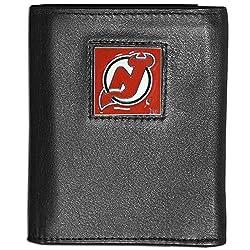 NHL Philadelphia Flyers Leather Tri-Fold Wallet