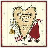 Weihnachts-Aufkleberbuch von Silke Leffler
