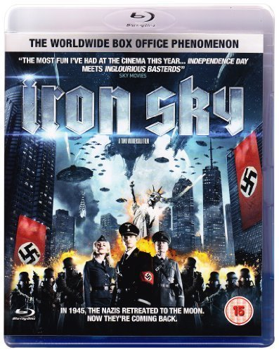 Iron Sky (Blu-ray + Digital Copy) by Ais by Timo Vuorensola (Iron Sky Blu Ray compare prices)