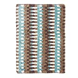 Riva Carpets Interlock Cotton Bathmat - Multi