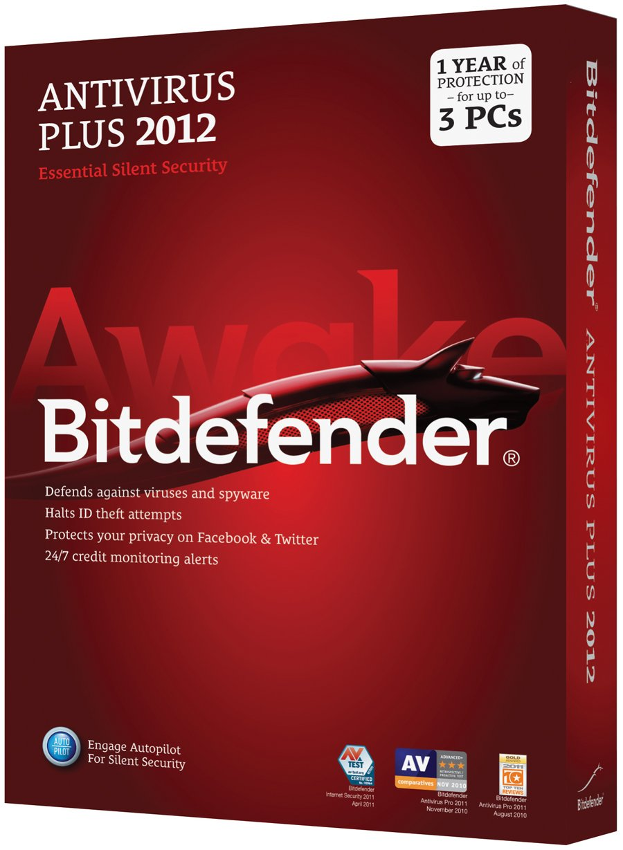 Bitdefender AntiVirus Plus 2012 Standard M1 3U/1 Year