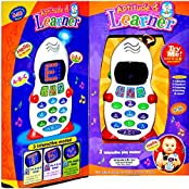 Zest 4 Toyz Aptitude & Learner Phone Abc And 123 Learner Mobile Toy For Kids, Led Display + Music, Educational...