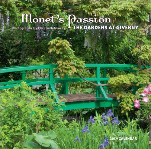 Monets Passion  2014 Mini Wall Calendar