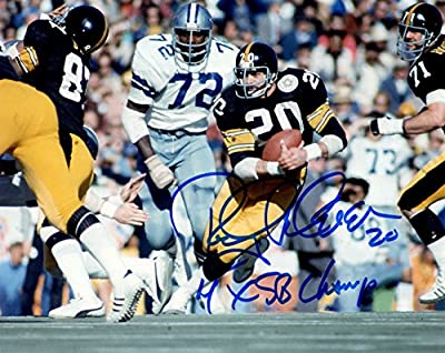 Autographed Rocky Bleier Pittsburgh Steelers 8x10 Photo