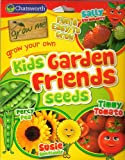 63 Fruits & Vegetable Seeds 4 in 1: Sunflower/Tomato/Strawberry/Pea/MULTI-BUY DISCOUNT/Kids Garden Friends