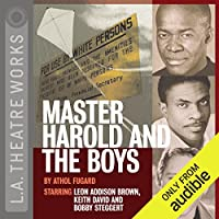 Master Harold and the Boys audio book