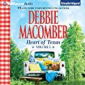 Lonesome Cowboy and Texas Two-Step: Heart of Texas, Volume 1 Audiobook by Debbie Macomber Narrated by Natalie Ross